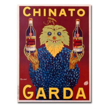 ''Chinato Garda, 1925'' 18'' x 24'' Canvas Art by Bouchet