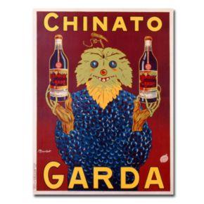 ''Chinato Garda, 1925'' 35'' x 47'' Canvas Art by Bouchet