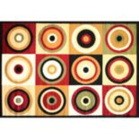 Infinity Home Dulcet Commerce Rings Rug - 7'10'' x 9'10''