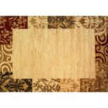 Infinity Home Dulcet Damask Frame Rug - 7'10'' x 9'10''