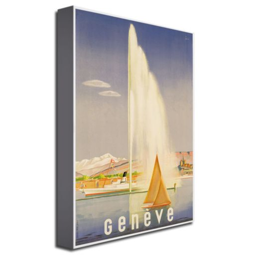 Geneva, 1937 16'' x 24'' Canvas Art by Fehr