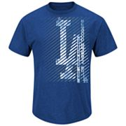 Majestic Los Angeles Dodgers Batting Champion Tee - Men