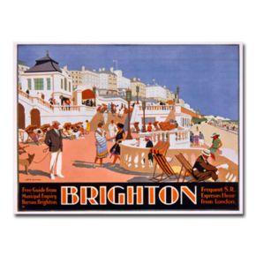 Brighton 18'' x 24'' Canvas Art by Henry Gawthorn