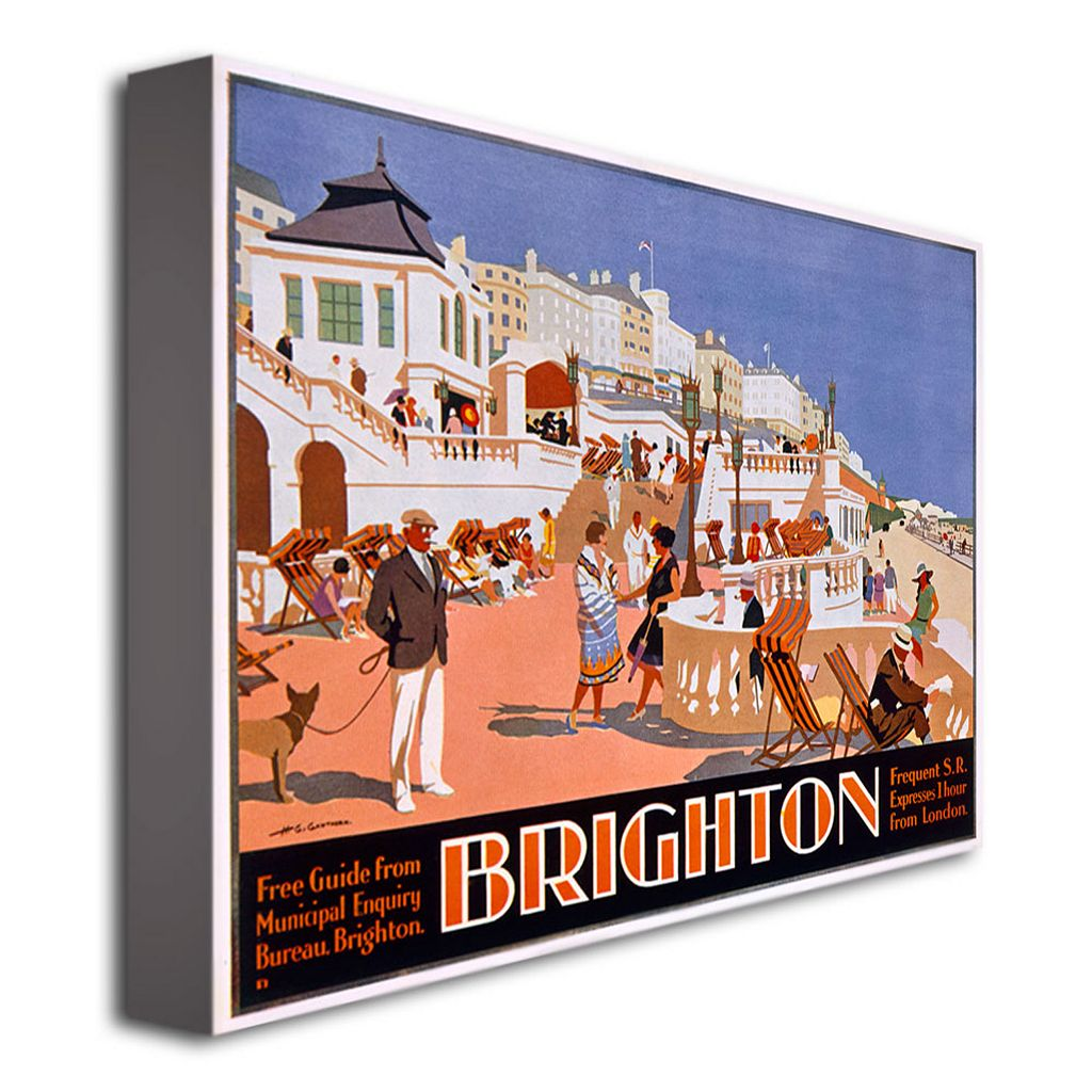 Brighton 18'' x 24'' Canvas Art by Henry Gawthorn