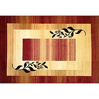 Infinity Home Dulcet Whisper Border Rug - 7'10'' x 9'10''