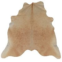 Linon Light Brindle Full-Skin Cowhide Rug