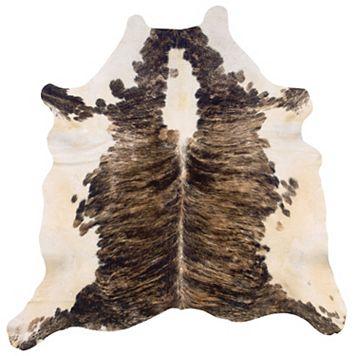 Linon Exotic Full-Skin Cowhide Rug