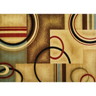 Infinity Home Barclay Arcs and Shapes Rug - 3'11'' x 5'3''