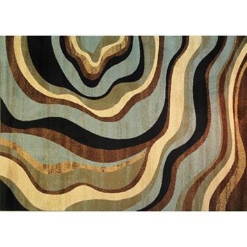 Infinity Home Barclay Nirvana Waves Rug - 3'11'' x 5'3''