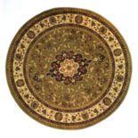 Infinity Home Barclay Medallion Kashan Rug - 5'3'' Round