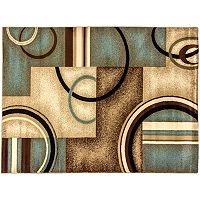 Infinity Home Barclay Arcs & Shapes Rug - 5'3'' x 7'3''