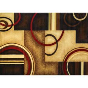 Infinity Home Barclay Arcs and Shapes Rug - 5'3'' x 7'3''