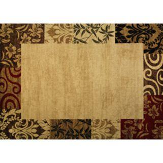 Infinity Home Barclay Vane Willow Rug - 5'3'' x 7'3''