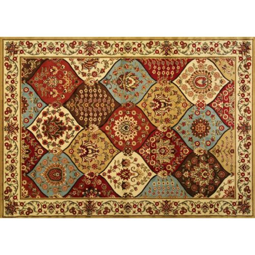"Infinity Home Barclay Wentworth Panel Rug – 5'3"" x 7'3"""
