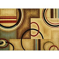 Infinity Home Barclay Arcs & Shapes Rug - 6'7'' x 9'6''