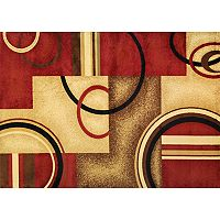 Infinity Home Barclay Arcs & Shapes Rug - 7'10'' x 9'10''