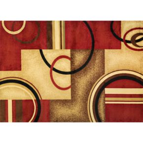 Infinity Home Barclay Arcs and Shapes Rug - 7'10'' x 9'10''