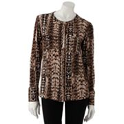 Dana Buchman Animal Blouse