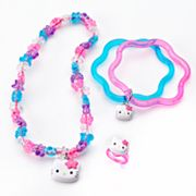 Hello Kitty Floral Necklace Set - Girls - Kids