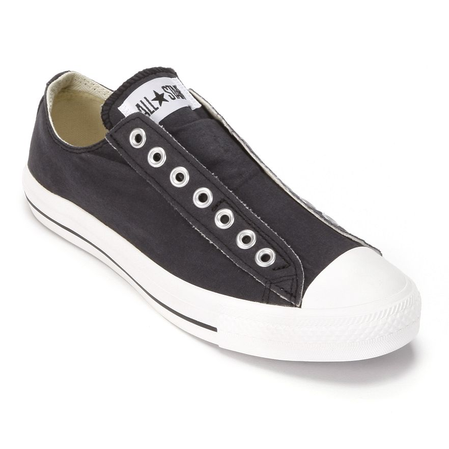 79288ab51394 Adult Converse All Star Laceless Sneakers. View Larger