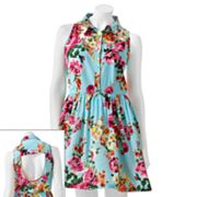 Liberty Love Floral Sleeveless Dress - Juniors