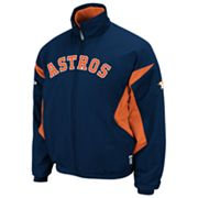 Majestic Houston Astros Therma Base Triple Peak Premier Jacket - Men