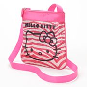 Hello Kitty Sequined Zebra Handbag - Girls