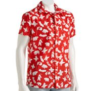 Hang Ten Cali Bear Camp Shirt - Men's
