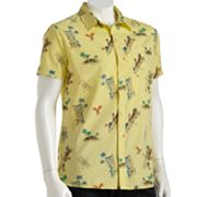 Hang Ten Tiki Guy Camp Shirt - Men