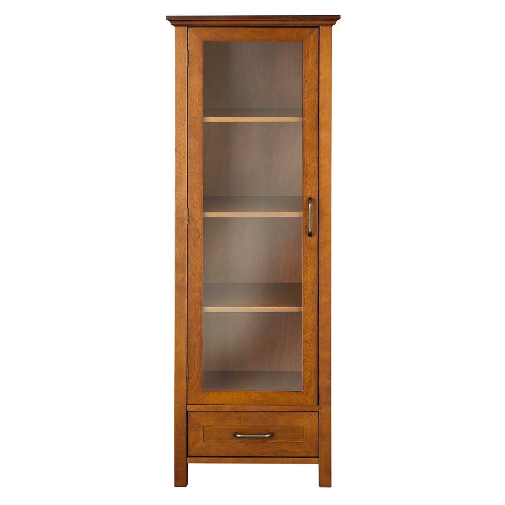 Elegant Home Fashions Amanda Large Linen Cabinet