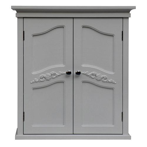 Elegant Home Fashions Vanessa Wall Cabinet