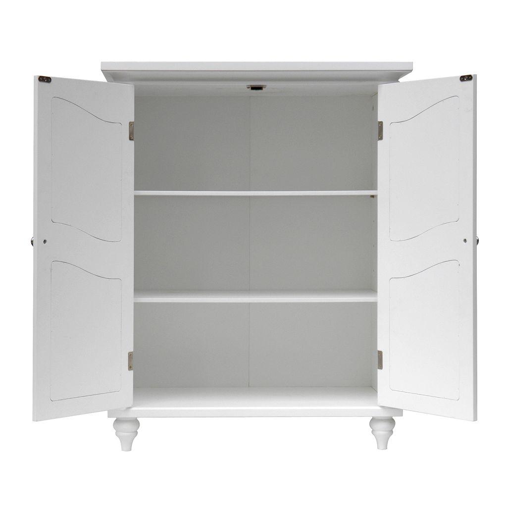 Elegant Home Fashions Vanessa 2-Door Floor Cabinet