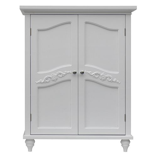 Elegant Home Fashions Vanessa 2-Door Floor Cabinet