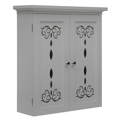 Elegant Home Fashions Dominique Wall Cabinet