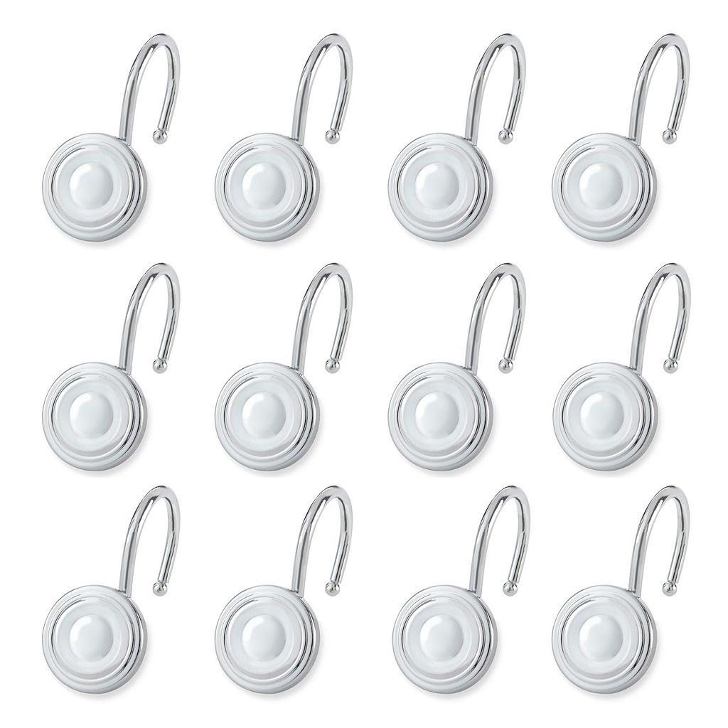 Elegant Home Fashions Circle 12-pk. Shower Curtain Hooks