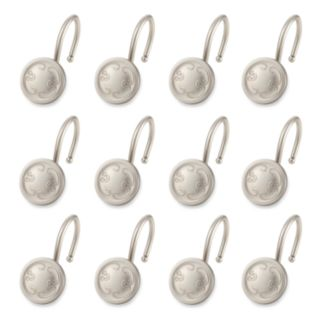 Elegant Home Fashions Touch Up 12-pk. Shower Curtain Hooks