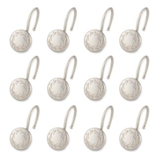 Elegant Home Fashions Poet Laureate 12-pk. Shower Curtain Hooks