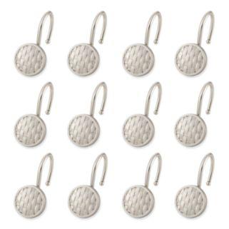 Elegant Home Fashions Woven 12-pk. Shower Curtain Hooks