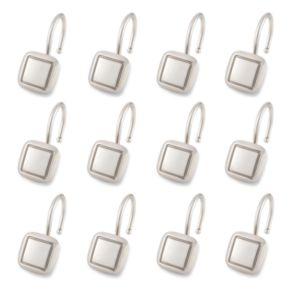 Elegant Home Fashions Square 12-pk. Shower Curtain Hooks