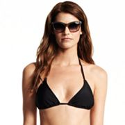 Derek Lam for DesigNation Solid Triangle Bikini Swim Top