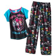 Monster High Scream Team Pajama Set - Girls