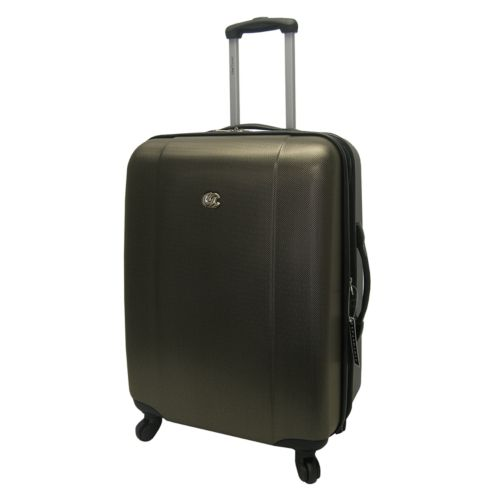 Oleg Cassini Luggage, Hardside 24-in. Spinner Upright