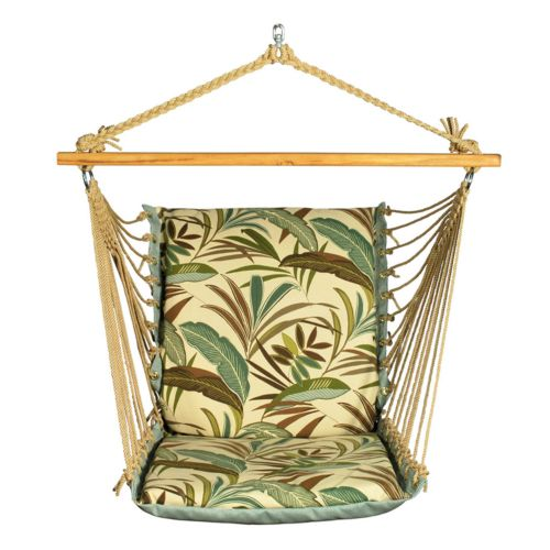 Algoma Reversible Cushioned Hanging Chair - Outdoor