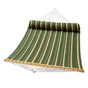 Algoma Double-Quilted Hammock and Pillow