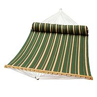 Algoma Double-Quilted Hammock & Pillow