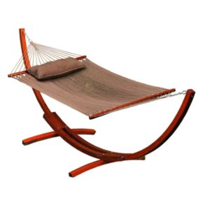 Algoma 12-ft. Arc Stand and Caribbean Hammock - Outdoor