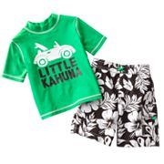 OshKosh B'gosh Little Kahuna Rash Guard and Swim Trunks Set - Toddler