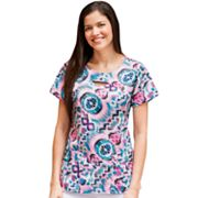 Jockey Scrubs Keyhole Top - Women's Plus
