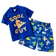 OshKosh B'gosh Cool Guy Rash Guard and Swim Trunks Set - Toddler