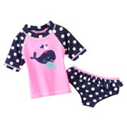 Carter's Whale and Dot 2-pc. Rash Guard Set - Toddler